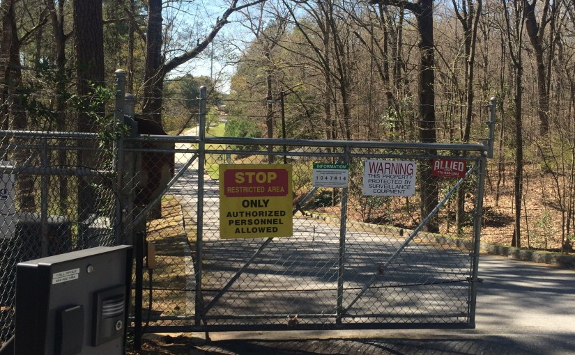 Forgotten and forbidden trails and parks of northwest Atlanta