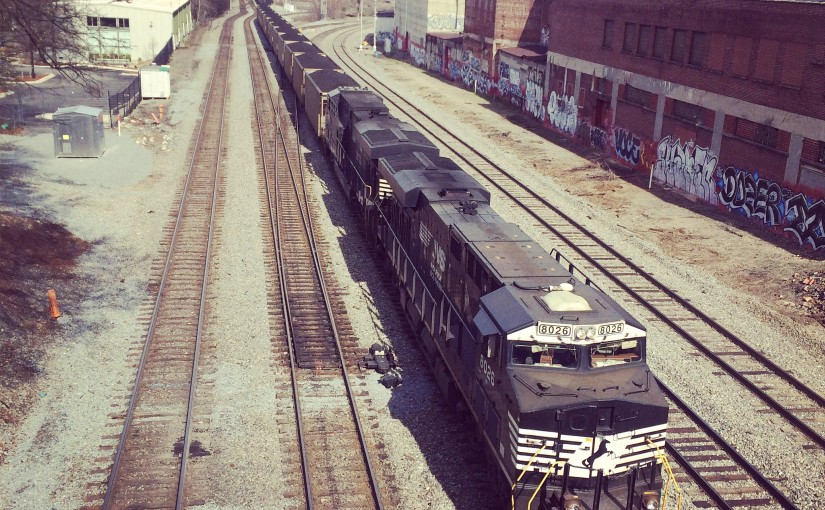 Atlanta railfan locations: King Plow